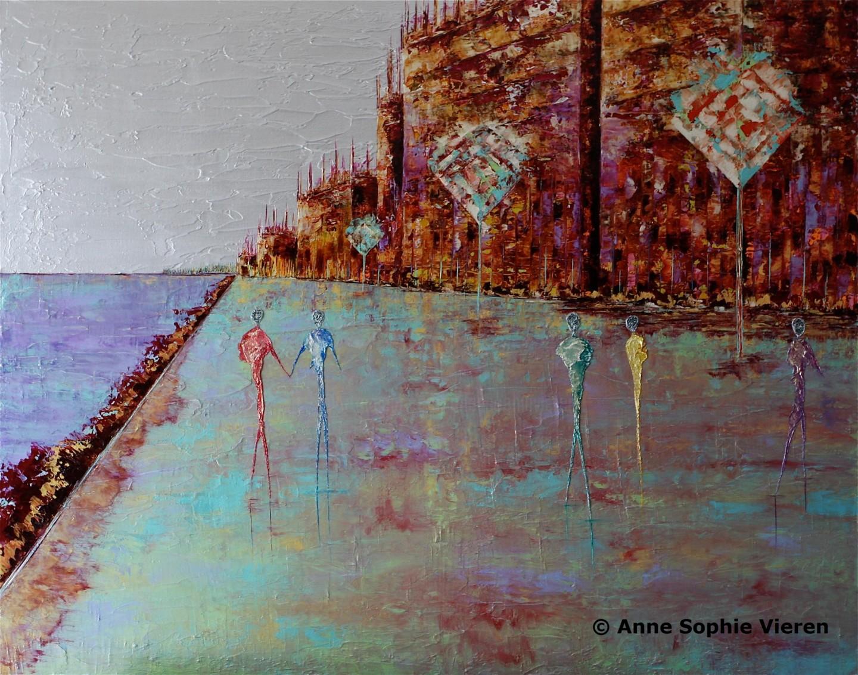 Anne Sophie Vieren - Insondable ... Thème urbain