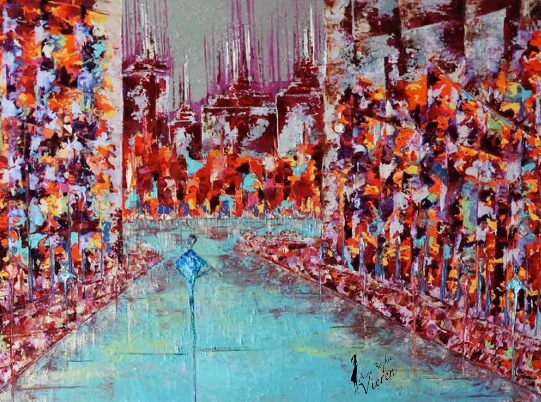 Anne Sophie Vieren - Seul ... Thème urbain