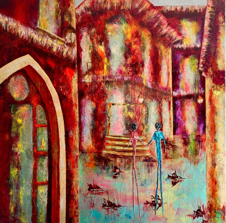Anne Sophie Vieren - Ensemble ... Artiste peintre Nantes