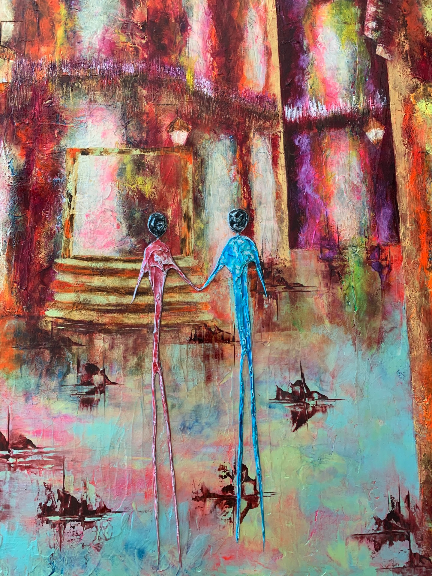 Anne Sophie Vieren - Ensemble... Artiste peintre Nantes