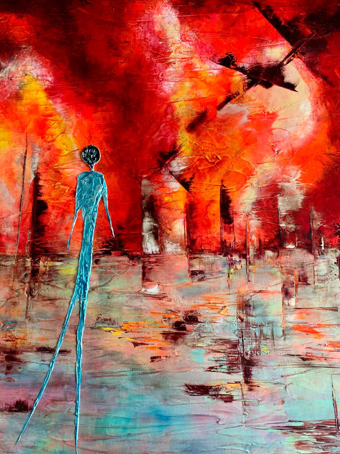 Anne Sophie Vieren - Solitude ... Artiste peintre Nantes