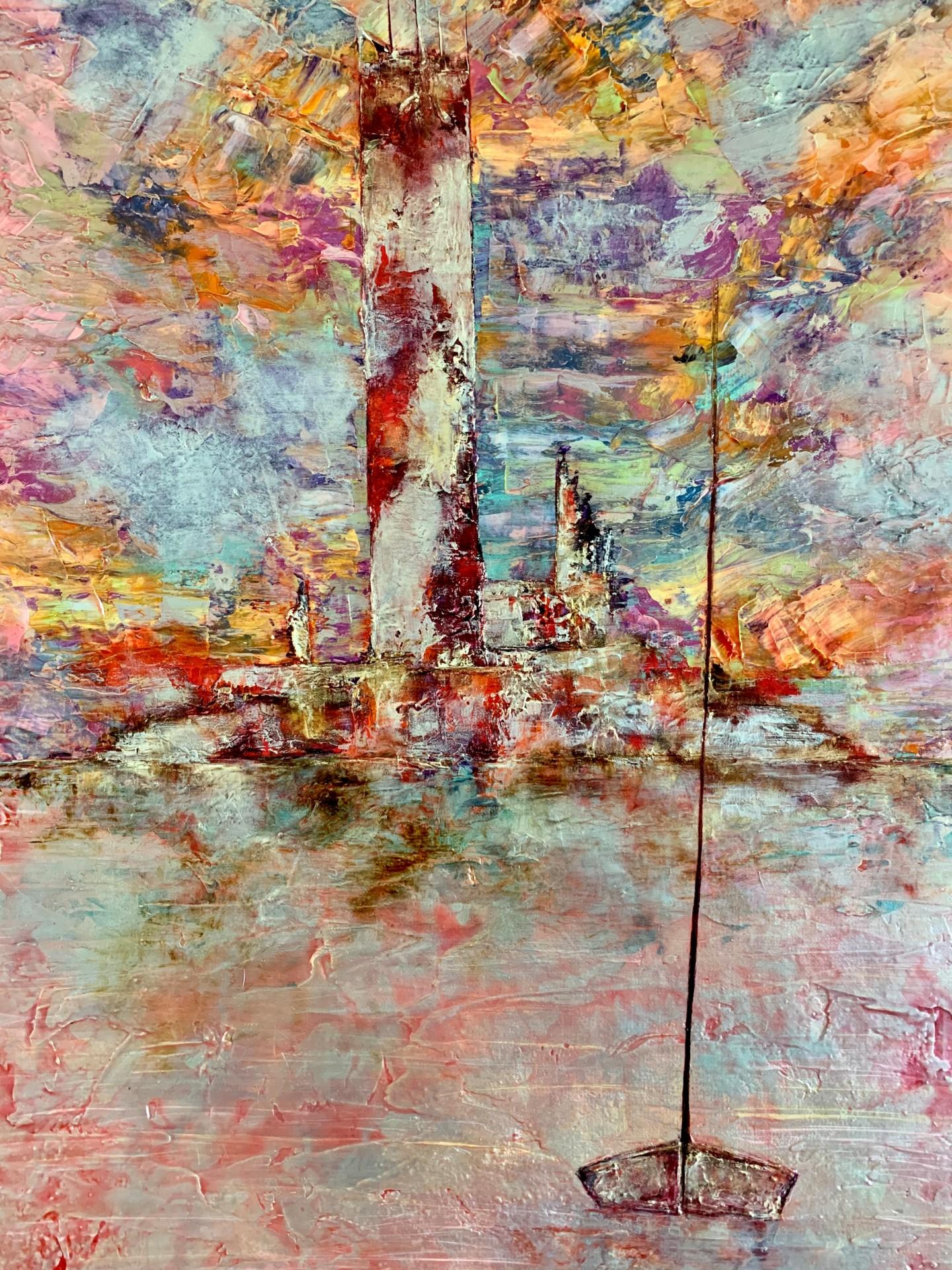 Anne Sophie Vieren - Sentinelle ...Vide Atelier Artiste peintre Nantes
