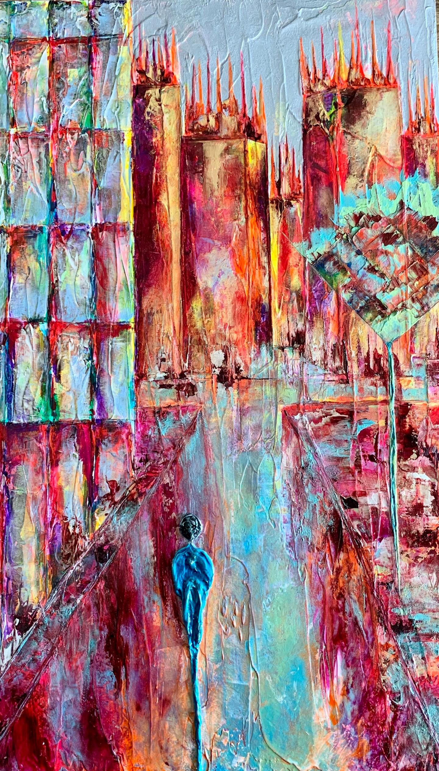 Anne Sophie Vieren - Insondable ... Artiste peintre Nantes