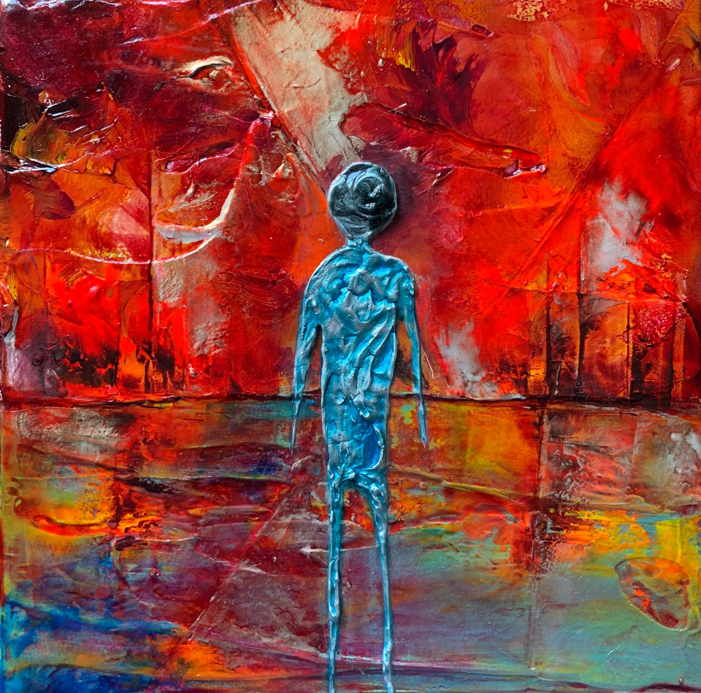 Anne Sophie Vieren - Seul ... artiste peintre Nantes