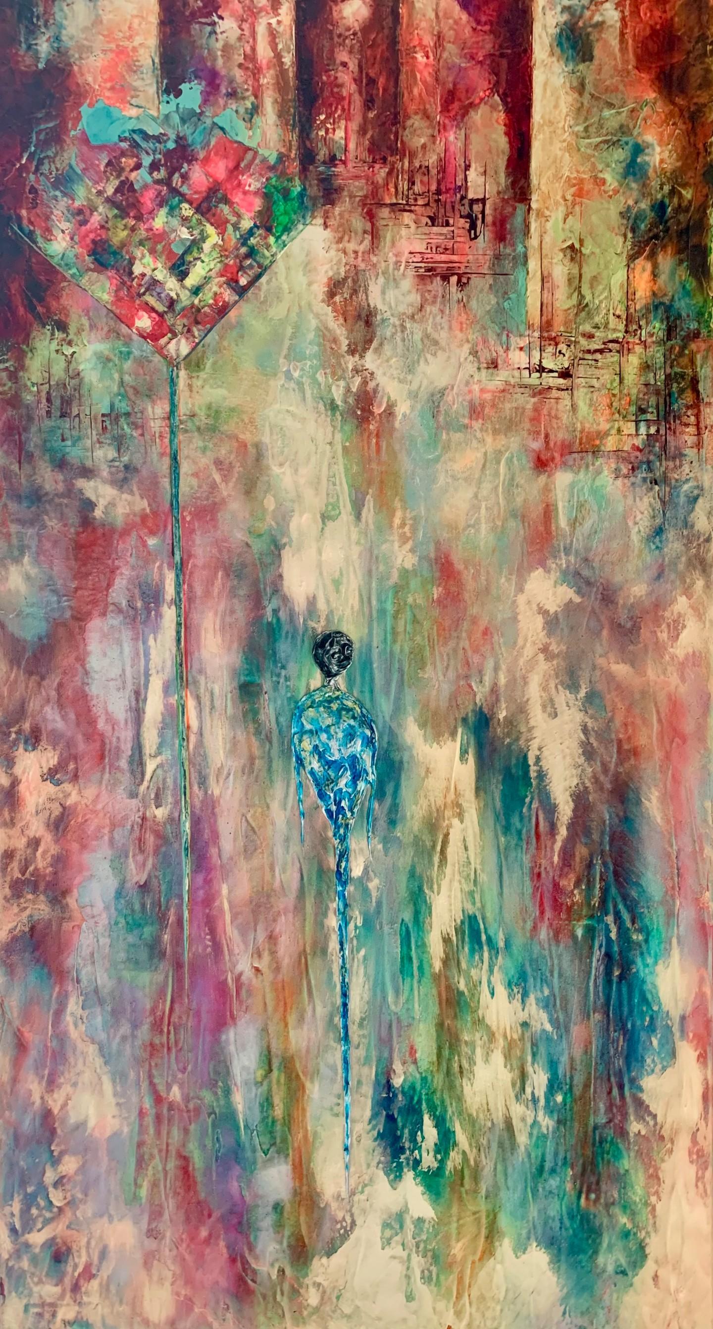 Anne Sophie Vieren - Racine (Détail) .... Artiste peintre Nantes