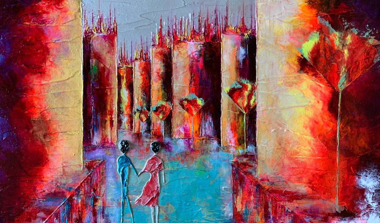 Anne Sophie Vieren - Alliance .. Artiste peintre Nantes
