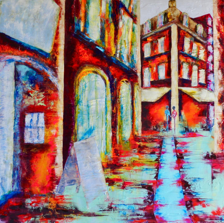 Anne Sophie Vieren - Solstice  ...Artiste Peintre Nantes
