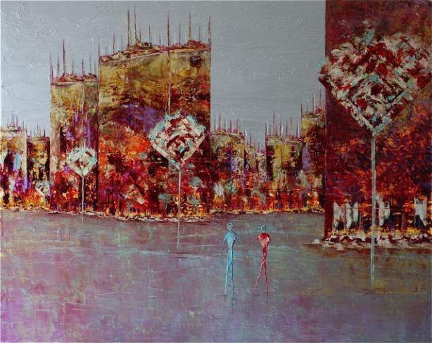 Anne Sophie Vieren - Chemin ... Artiste Peintre Nantes
