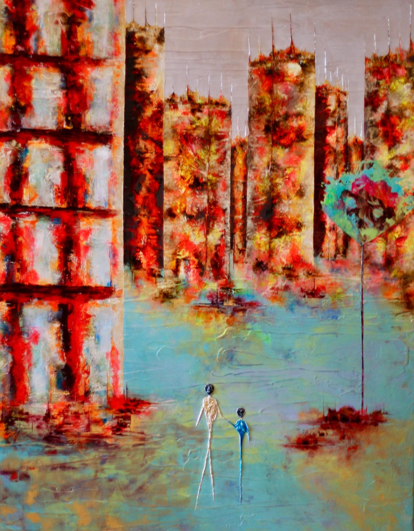 Anne Sophie Vieren - Ailleurs ... Artiste Peintre Nantes