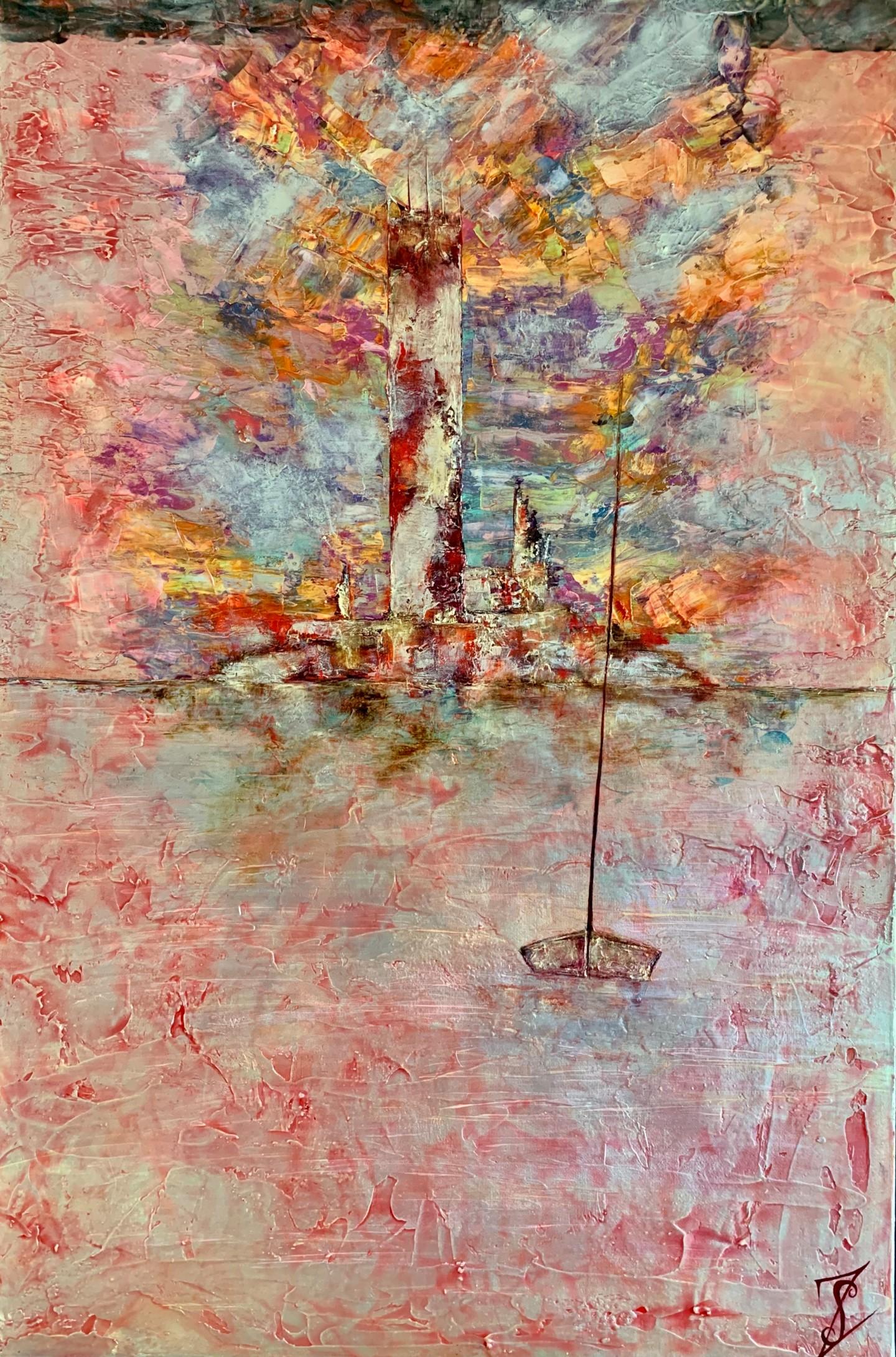 Anne Sophie Vieren - Sentinelle ....Artiste Peintre Nantes