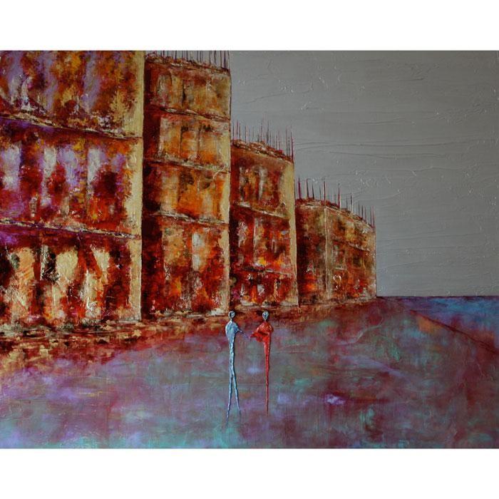 Anne Sophie Vieren - Complicité .... Artiste Peintre Nantes