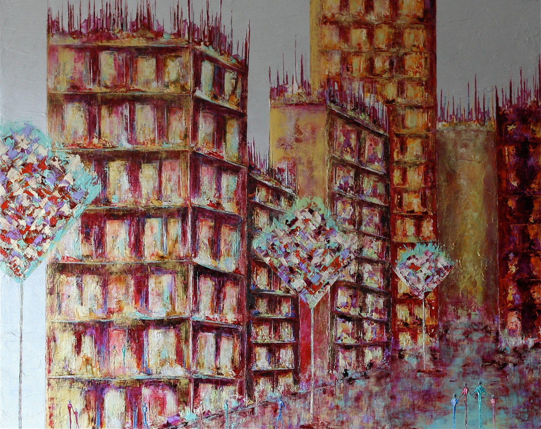 Anne Sophie Vieren - Civilisation ... Artiste Peintre Nantes