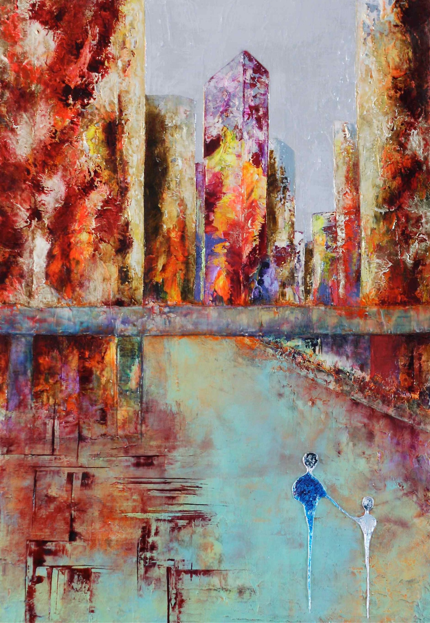 Anne Sophie Vieren - Agitation ... Artiste Peintre Nantes