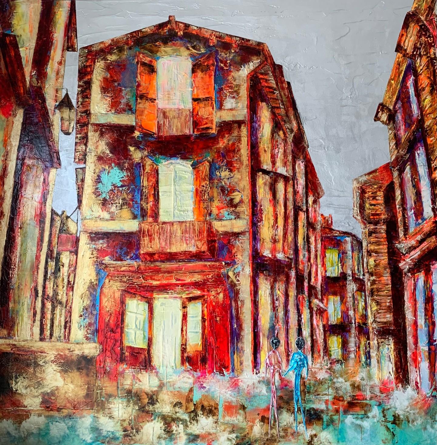 Anne Sophie Vieren - Commencement... Artiste peintre Nantes