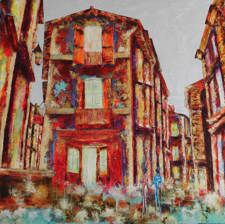 Anne Sophie Vieren - Commencement...Artiste peintre Nantes