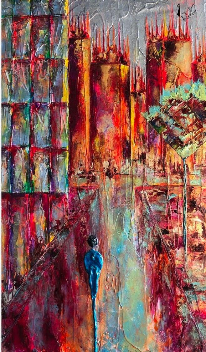 Anne Sophie Vieren - Insondable...Artiste peintre Nantes