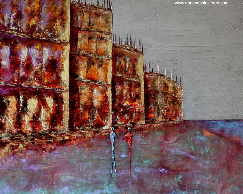 Anne Sophie Vieren - Complicité ... Thème urbain