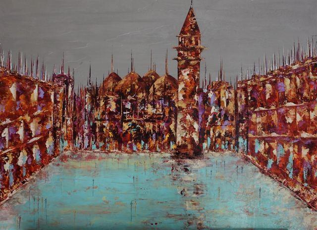Anne Sophie Vieren - Dévotion ... Thème urbain
