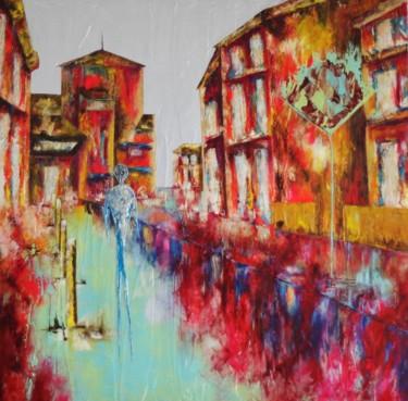 Seul ...Artiste peintre Nantes