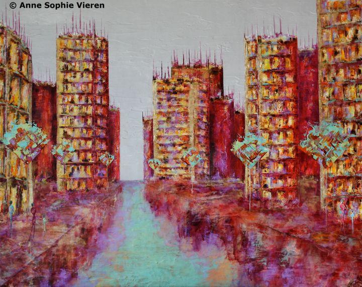 Anne Sophie Vieren - Renaissance ... Thème urbain