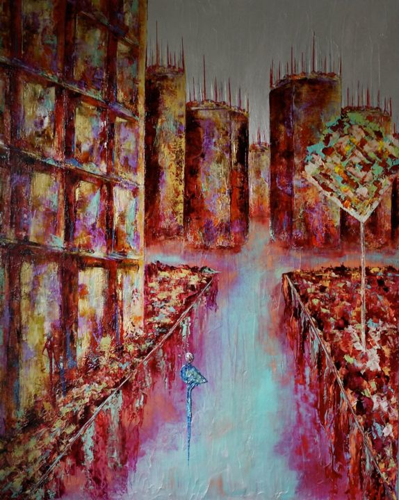 Anne Sophie Vieren - Labyrinthe ... Thème urbain