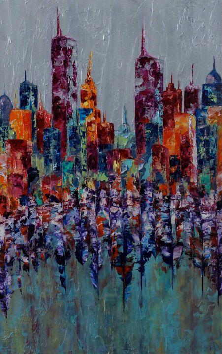 Anne Sophie Vieren - Reflet ... Thème urbain
